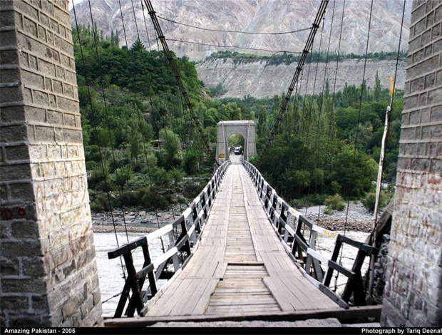 Ghizer River Bridge