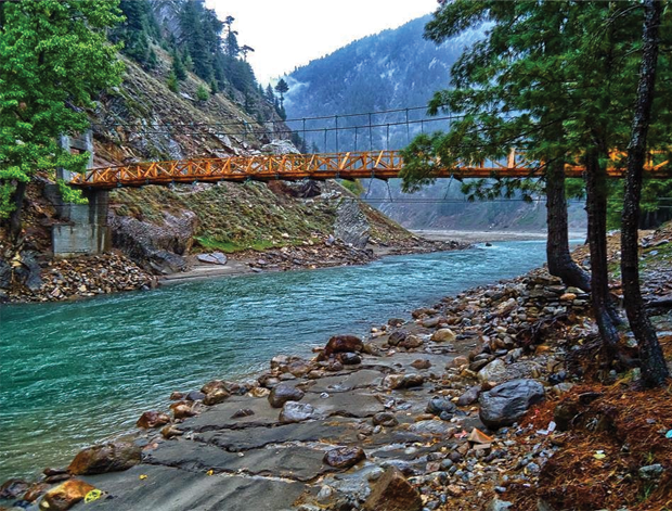 Kunhar River Bridge