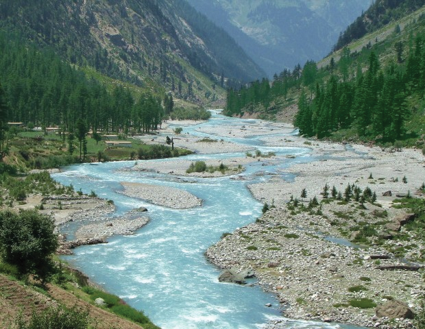 A view of the River Swat