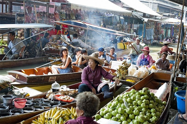 Unique Floating Markets in South East Asia