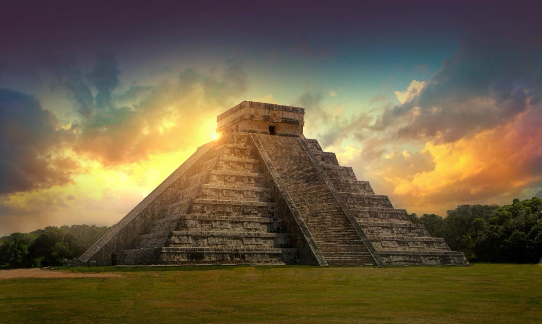 chichen-itza THE MOST BEAUTIFUL PLACES TO BE TRAVELED