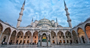Beautiful Blue Mosque of Turkey's Istanbul