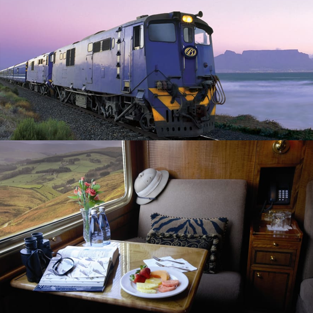 Blue Train, Pretoria to Cape Town