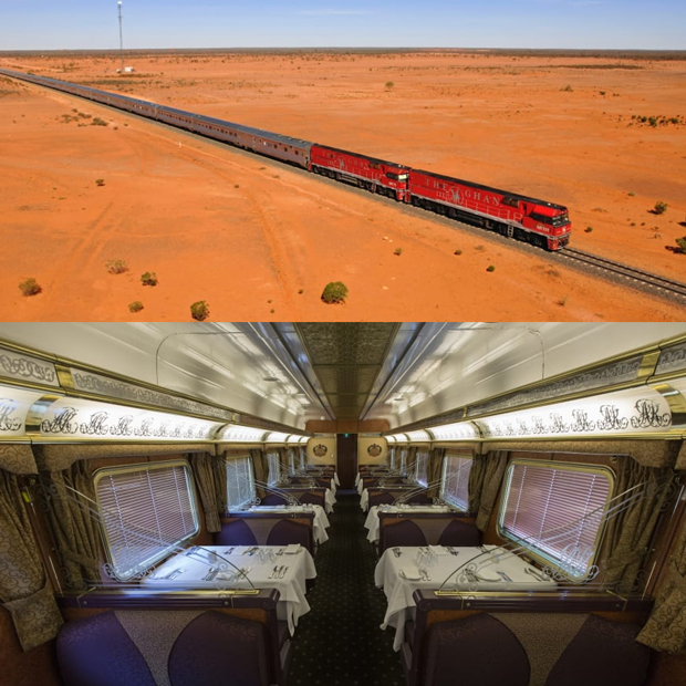 The Ghan, Adelaide to Darwin