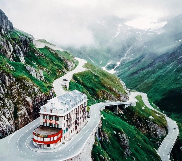 Furka Pass Most amazing and beautiful mountain roads in the world